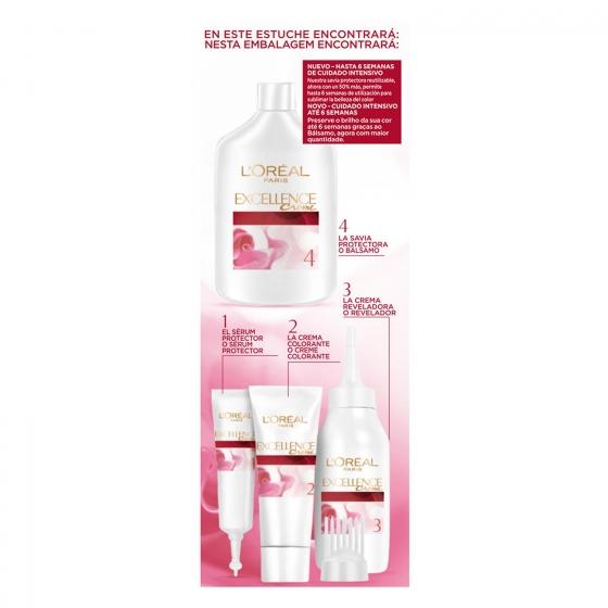 Tinte creme nº 9 Rubio Claro Claro L'Oréal Excellence 1 ud. - 1