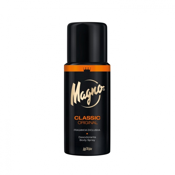 Desodorante en spray Classic original Magno 150 ml.
