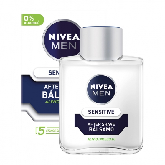 Bálsamo After Shave Sensitive Nivea Men 100 ml.
