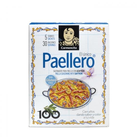 Sazonador para paella con azafrán Carmencita 20 g.