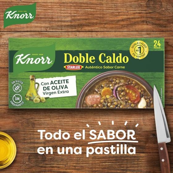 Caldo de carne con aceite de oliva virgen extra Knorr Knorr 24 pastillas - 3