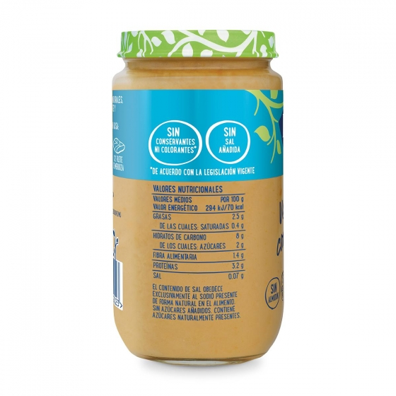 Tarrito de verduras con merluza desde 8 meses Hero Baby 235 g. - 3