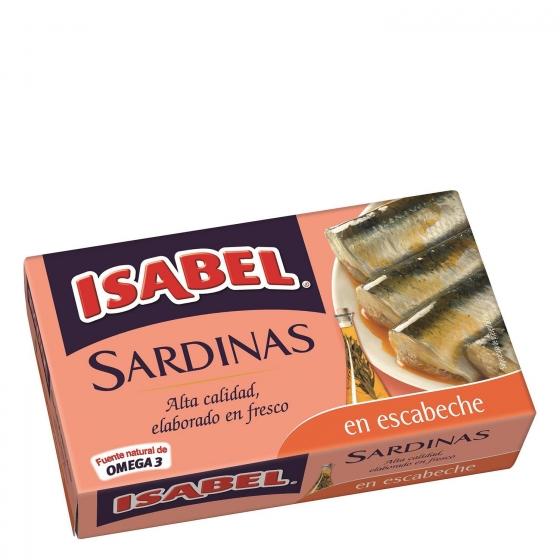 Sardinas en escabeche Isabel 115 g.