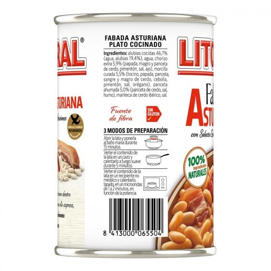 Fabada asturiana Litoral 435 g. - 1