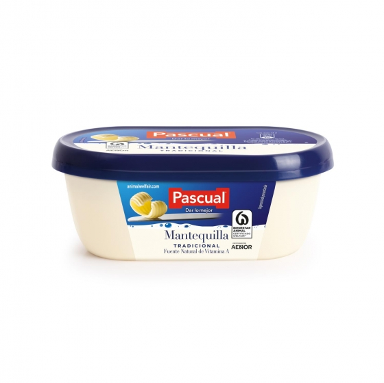 Mantequilla Pascual 250 g.