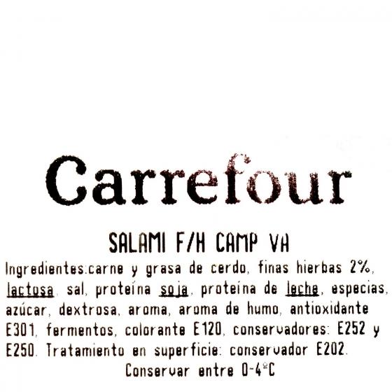 Salami Alharce Campofrío al corte 250 g aprox - 3