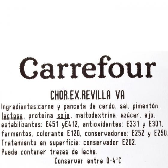 Chorizo extra curado Revilla al corte 250 g aprox  - 3