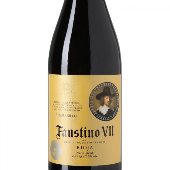 Vino D.O. Rioja tinto Faustino VII 75 cl. - 1