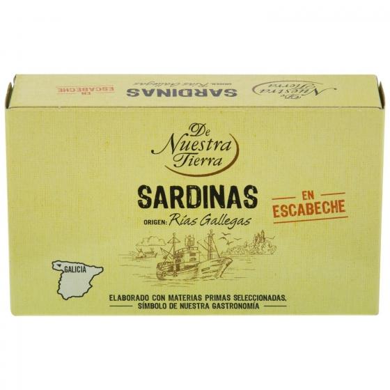 Sardinas en escabeche De Nuestra Tierra 80 g.