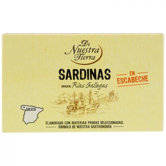 Sardinas en escabeche De Nuestra Tierra 80 g. - 1