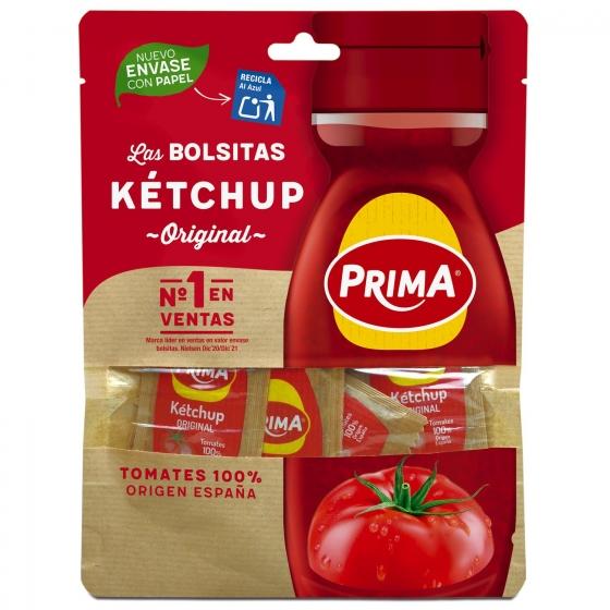 Ketchup Prima pack de 15 sobres de 11 g.