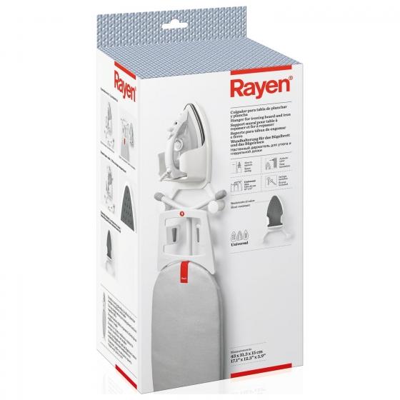 Colgador Tabla Plancha RAYEN 43x31,3x15 cm - Blanco - 1