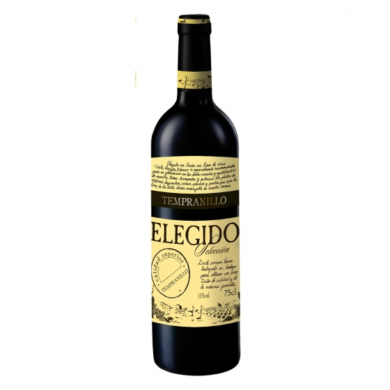 Vino de la Tierra de Castilla tinto 'Selección' Elegido botella 75 cl.