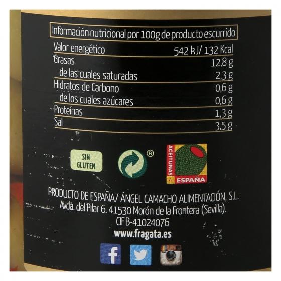 Aceitunas gordal sin hueso aliñadas al estilo casero Fragata 450 g. - 1