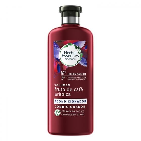 Acondicionador café arábica ecológico Herbal Essences 400 ml.