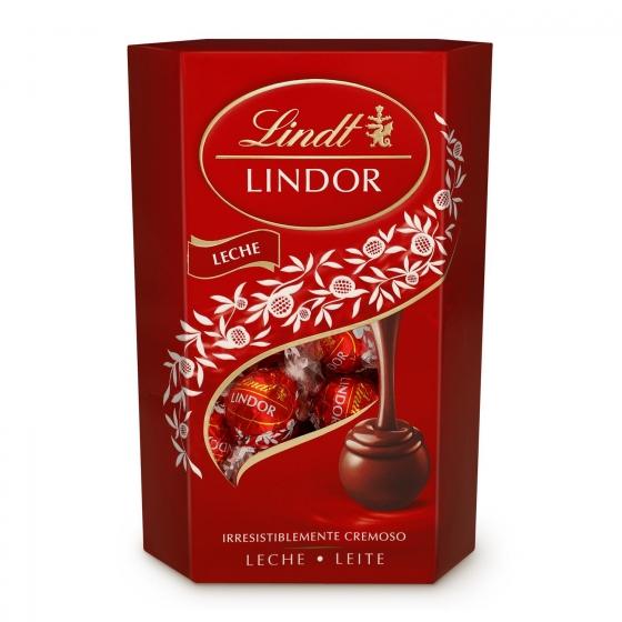 Bombones de chocolate con leche Lindt Lindor 200 g.