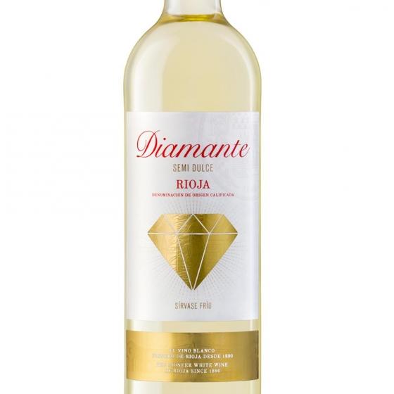 Vino D.O. Rioja blanco semi-dulce Diamante 75 cl. - 1