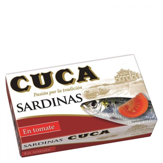 Sardinas en tomate Cuca 120 g.