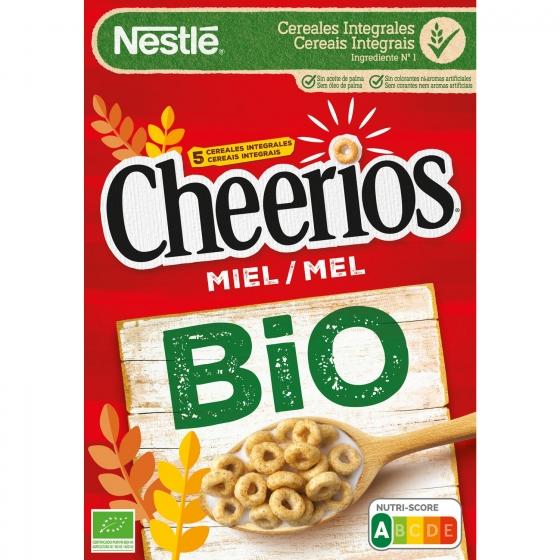 Cereales integrales con miel ecológicos Cheerios Nestlé 330 g. - 3