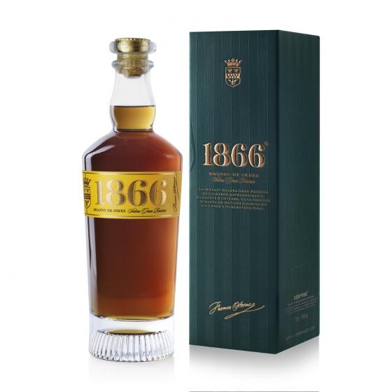 Brandy 1866 solera Gran Reserva 70 cl.