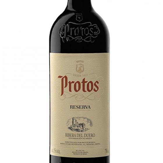 Vino D.O. Ribera del Duero tinto reserva Protos 75 cl. - 1