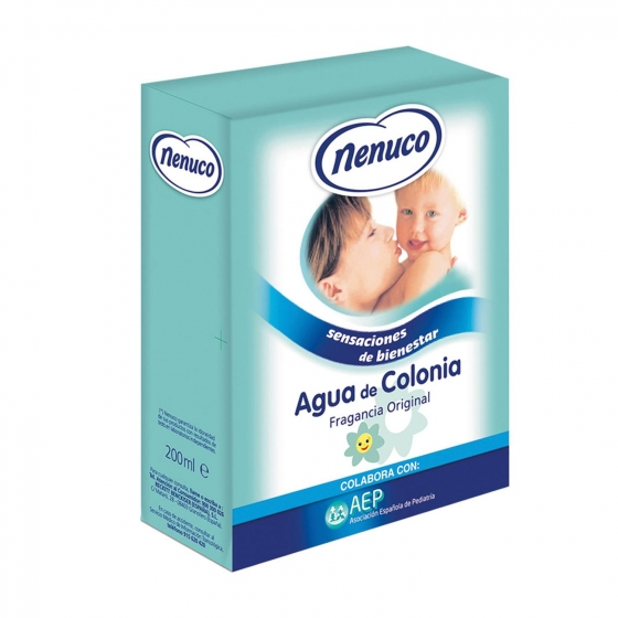 Agua de colonia Nenuco 200 ml.