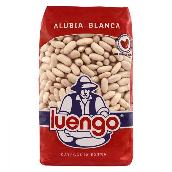 Alubia blanca categoría extra Luengo 1 kg.