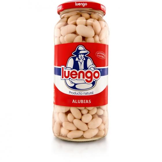 Alubia cocida categoría extra Luengo 400 g.
