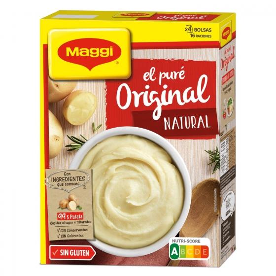 Puré de patatas Maggi sin gluten 460 g.