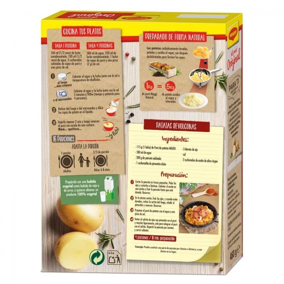 Puré de patatas Maggi sin gluten 460 g. - 1