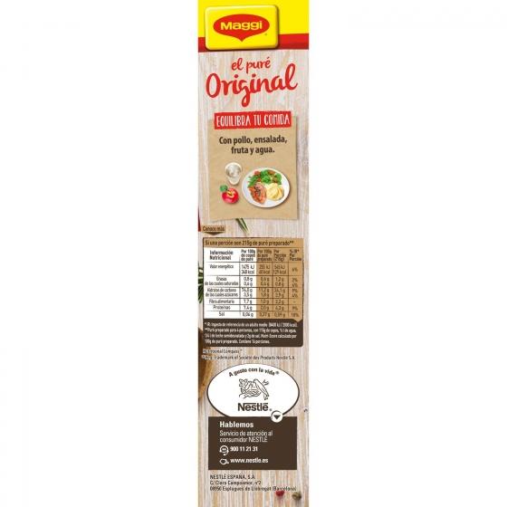 Puré de patatas Maggi sin gluten 460 g. - 4