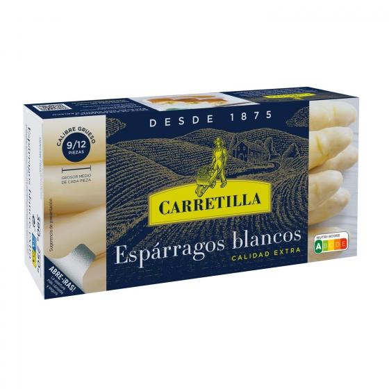 Espárragos blancos extra 9/14 Carretilla 250 g.