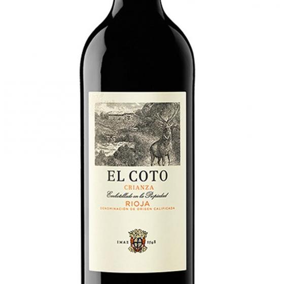 Vino D.O. Rioja tinto crianza El Coto 75 cl. - 1