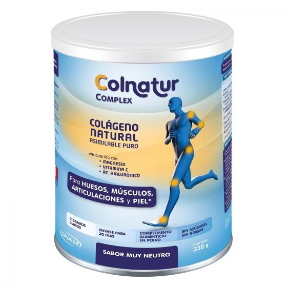 Complemento colágeno natural cómplex en polvo Colnatur 330 g.