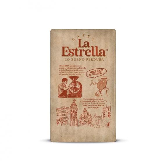 Café molido mezcla descafeinado La Estrella 250 g. - 4