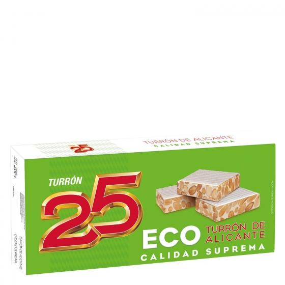 Turrón de Alicante ecológico Turrón 25 200 g.