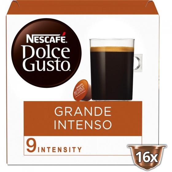 Café grande intenso en cápsulas Nescafe Dolce Gusto 16 unidades de 10 g. - 4