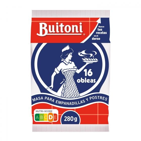 Masa para empanadillas y postres Buitoni 280 g.