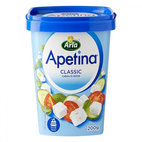 Apetina queso blanco dados en salmuera Arla 200 g.