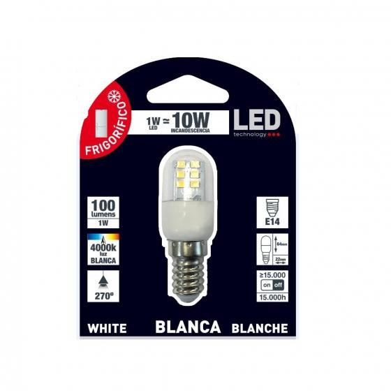 Bombilla Led 1W E14 Blanca - 1
