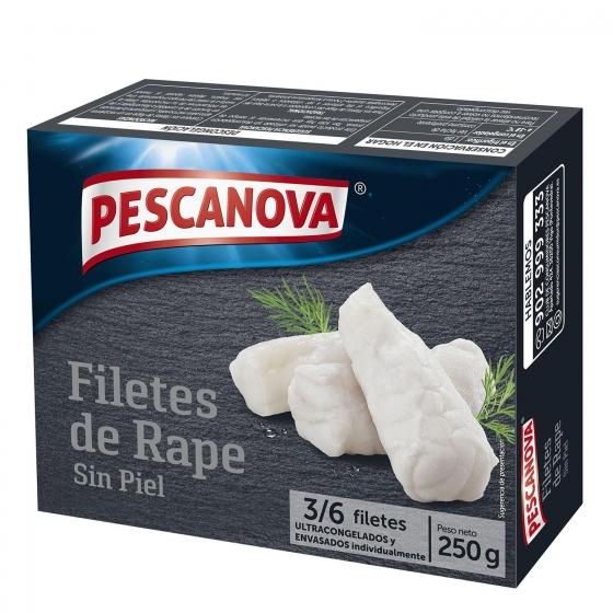 Filete rape sin piel Pescanova 250 g.