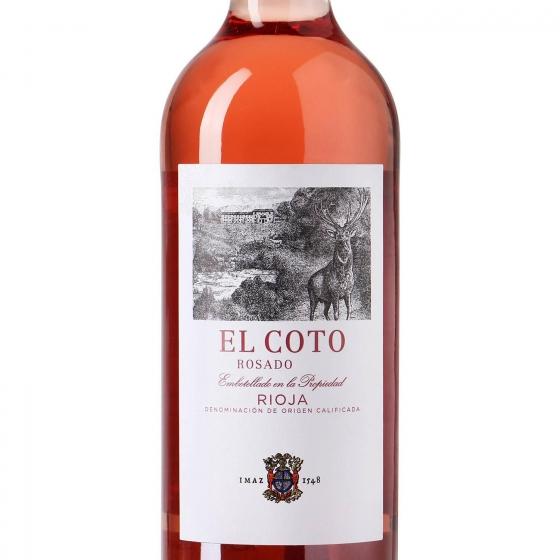 Vino D.O. Rioja rosado El Coto 75 cl. - 1