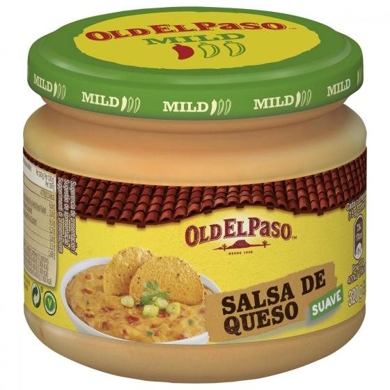 Salsa de queso Old El Paso tarro 320 g.