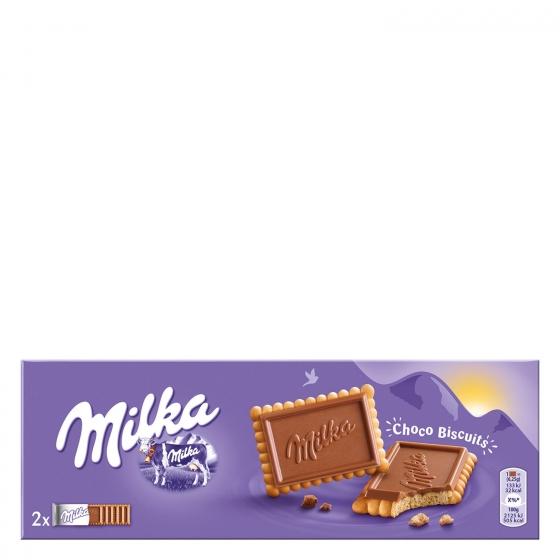Galletas con chocolate Choco Biscuits Milka 150 g.