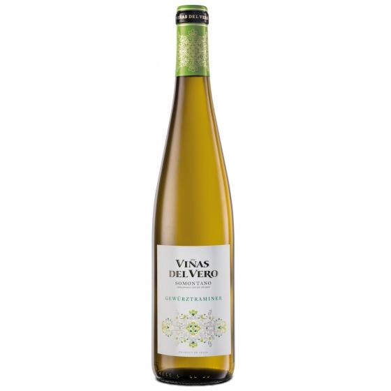 Vino D.O. Somontano blanco (gewurztraminer colección) Viñas del Vero 75 cl.
