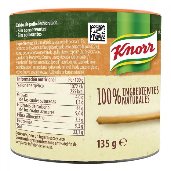 Caldo granulado de pollo Knorr 150 g. - 1