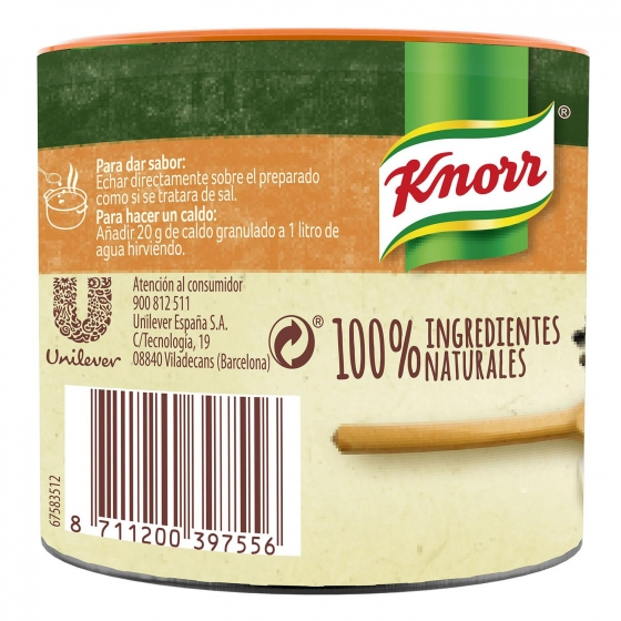Caldo granulado de pollo Knorr 150 g. - 3