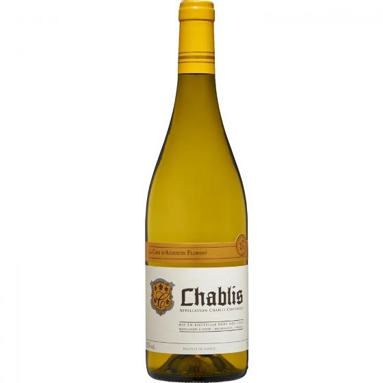 Vino blanco Chablís La Cave D'agustin Flotent 75 cl.