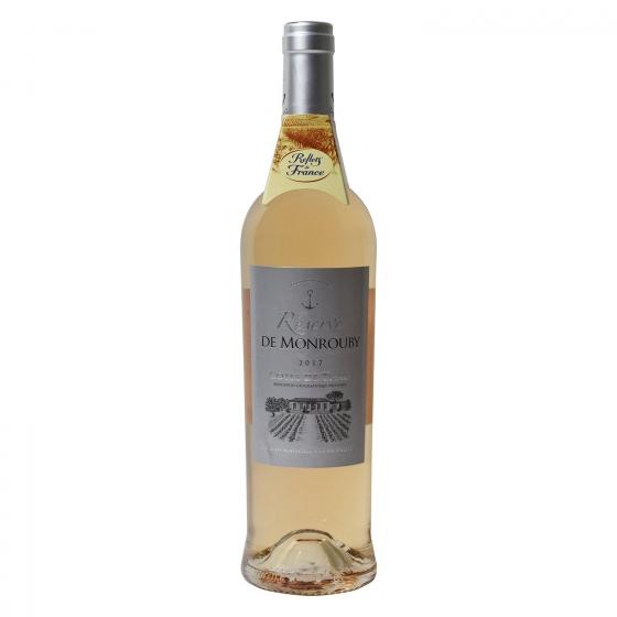 Vino francés rosado reserva de Monrouby Reflets de France 75 cl.