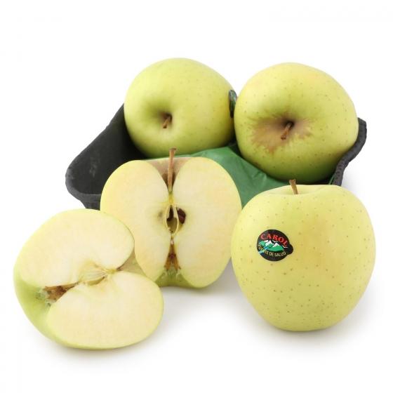 Manzana golden selecta Frutas  bandeja 4 ud 1 Kg aprox